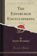 The Edinburgh Encyclopaedia Vol 8 Of 18 Classic Reprint  Book PDF