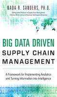 Big Data Driven Supply Chain Management PDF