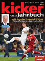 Kicker Fu  ball Jahrbuch 2018 PDF