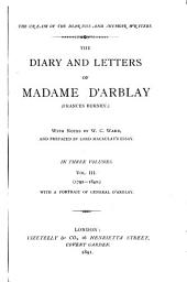 The Diary and Letters of Madame D'Arblay (Frances Burney): 1792-1840