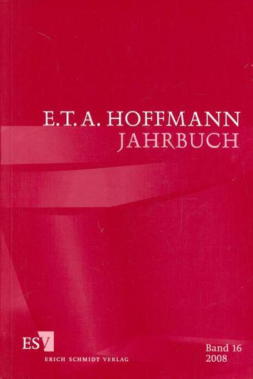 E  T  A  Hoffmann Jahrbuch 2008 PDF