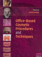 Office Based Cosmetic Procedures and Techniques PDF