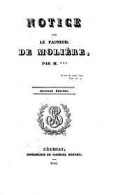 Notice sur le fauteuil de Molière