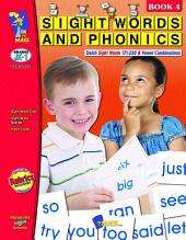Sight Words & Phonics - Book 4 (171-220 Dolch Sight Words) Gr. JK-1