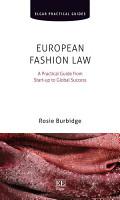 European Fashion Law PDF