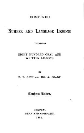 Combined Number and Language Lessons PDF