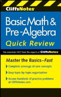 CliffsNotes Basic Math   Pre Algebra Quick Review  2nd Edition PDF