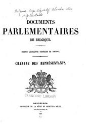 Documents parlementaires
