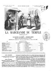 La marchande du temple drame en cinq actes par Auguste Luchet et Desbuards