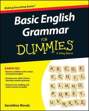 Basic English Grammar For Dummies   US PDF