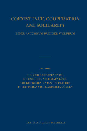 Coexistence, Cooperation and Solidarity (2 vol. set)