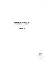 Fire Island Lighthouse and Keeper's Dwelling