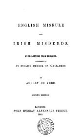 English misrule and Irish misdeeds, 4 letters