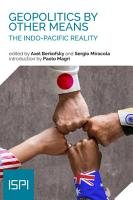 Geopolitics By Other Means PDF