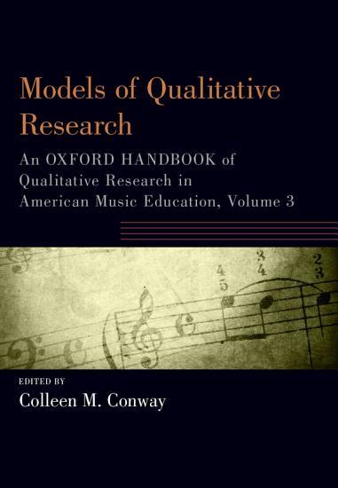 Models of Qualitative Research PDF