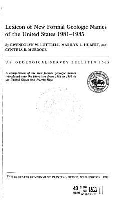 U S  Geological Survey Bulletin PDF