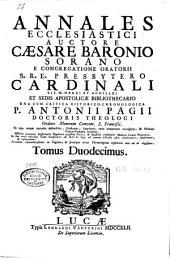Annales ecclesiastici: Volume 12
