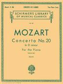 Concerto no. 20 in D minor for the piano