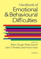 Handbook of Emotional and Behavioural Difficulties PDF