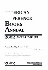 American Reference Books Annual  2002 PDF