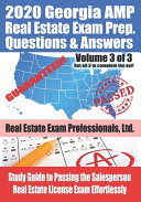 2020 Georgia AMP Real Estate Exam Prep Questions and Answers PDF