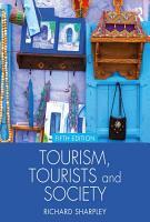 Tourism  Tourists and Society PDF