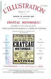 Chateau historique! comédie en trois actes, en prose: Numéros1à9