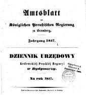 Amtsblatt der Königlichen Preußischen Regierung zu Bromberg: 1857