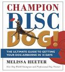 Champion Disc Dog