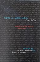 Rights vs  Public Safety after 9 11 PDF