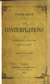 Les contemplations: Volume2
