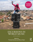 Excursions in World Music Book