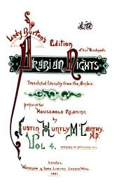 Lady Burton's edition of her husband's Arabian nights: translated literally from the Arabic
