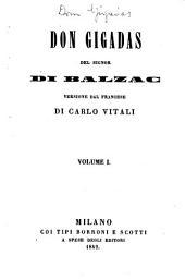Don Gigadas, Versione dal francese di Carlo Vitali. (Con rami.)