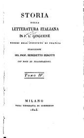 Storia della letteratura italiana: Volume 4