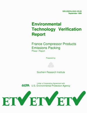 France Compressor Products Emissions Packing PDF