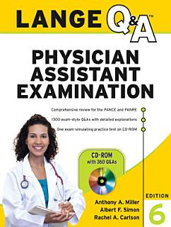 Lange Q A Physician Assistant Examination  Sixth Edition Book