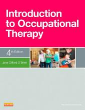 Introduction to Occupational Therapy: Edition 4