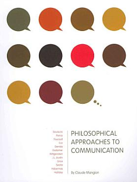 Philosophical Approaches to Communication PDF