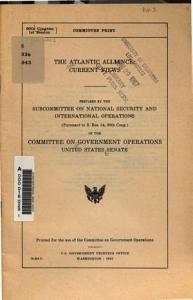 The Atlantic Alliance PDF