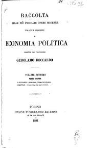 (1-2) Boccardo, G. L'animale e l'uomo, introduzione. Schäffle, A.E.F. Struttura del corpo sociale