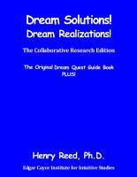 Dream Solutions Academic Revision PDF
