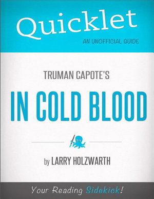 Quicklet On Truman Capote s In Cold Blood