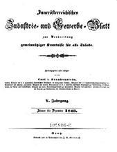 Inner  sterreichisches Industrie  und Gewerbeblatt zur Verbreitung gemeinn  tziger Kenntni  e f  r alle St  nde   Herausgegeben und redigirt von Carl v  Frankenstein PDF
