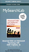 Abnormal Child And Adolescent Psychology Mysearchlab Access Code