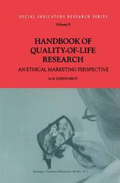 Handbook of Quality-of-Life Research: An Ethical Marketing Perspective