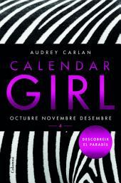 Calendar Girl 4 (Català): Octubre Novembre Desembre