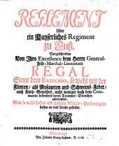 Reglement über ein kaiserliches Regiment zu Fuß