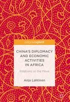 China   s Diplomacy and Economic Activities in Africa PDF