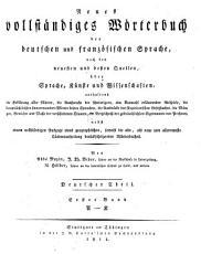 Nouveau dictionnaire complet    l usage des Allemands et des Fran  ais PDF